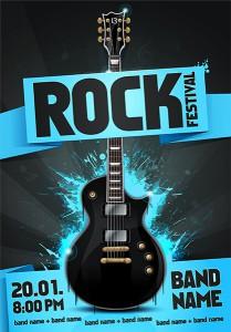 cartel para un concierto